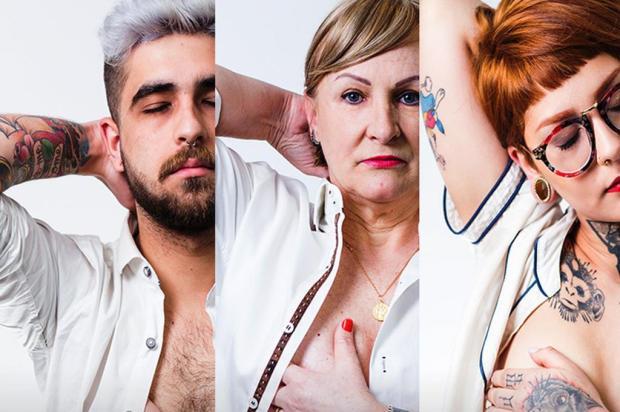 3por4: Fotos pela conscientização sobre o câncer de mama Bruno Kriger/Divulgação