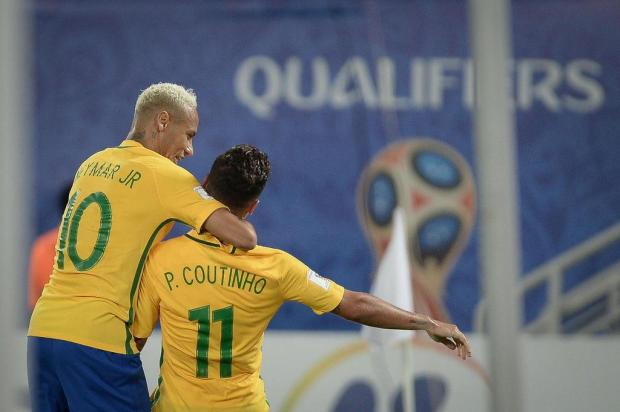 Seleção de Tite joga bonito e goleia a Bolívia por 5 a 0 na Arena das Dunas Pedro Martins/Mowa Press