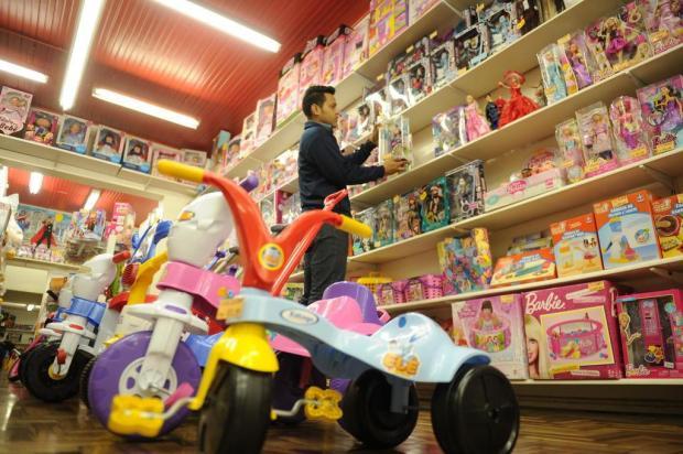 Gasto médio com presentes no Dia das Crianças deve superar os R$ 200 em Caxias Diogo Sallaberry/Agencia RBS