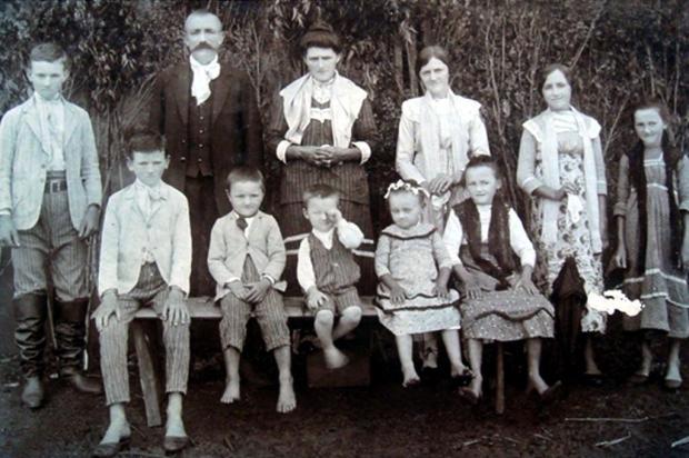 Encontros de família: Bernardi, Capellari e Gasperin Não se aplica/Arquivo Pessoal