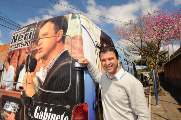 Neri, O Carteiro é reeleito em Caxias e prioriza os bairros Jonas Ramos/Agencia RBS