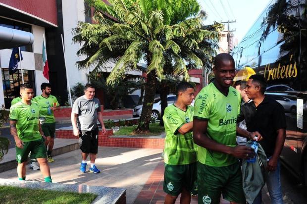 Porta-voz dos jogadores do Juventude, lateral Pará destaca a concentração total para a decisão Porthus Junior/Agencia RBS