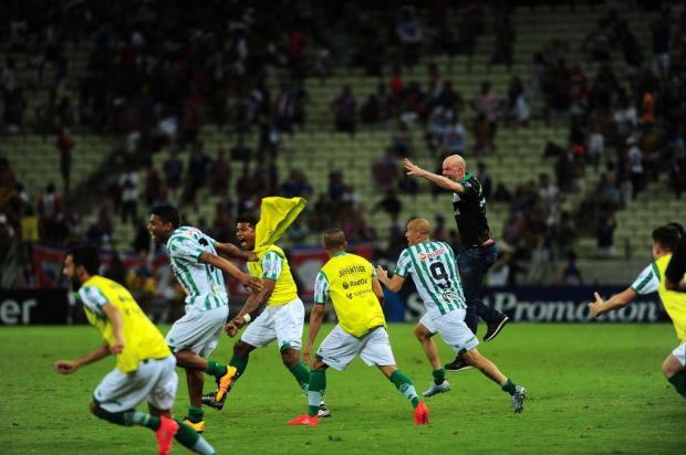 """""""Conquistamos o nosso maior objetivo da temporada"""", destaca o técnico Antônio Carlos Zago Porthus Junior/Agencia RBS"""