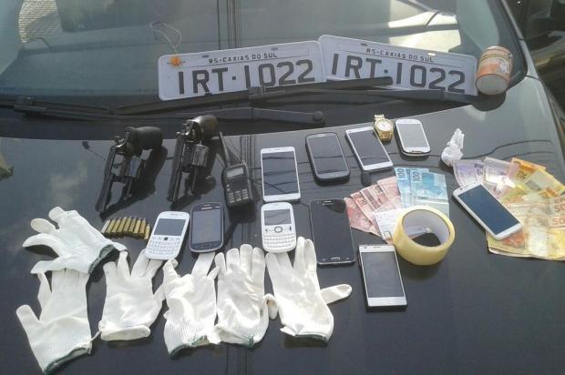 BM prende suspeitos envolvidos em roubo e receptação de veículos em Caxias do Sul Brigada Militar/Divulgação