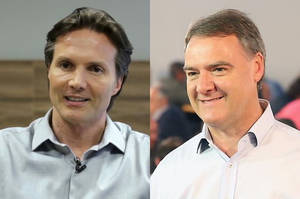 Debate sobre governabilidade vai esquentar entre candidatos de Caxias Montagem sobre as fotos de Daniel Bianchi e Reprodução / Divulgação/Divulgação