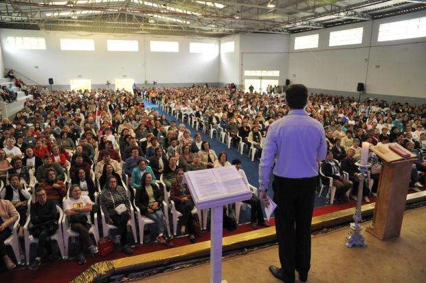 Milhares de fiéisparticipam do Encontro de Zeladoras de Capelinhas em Caxias Marcelo Casagrande/Agencia RBS