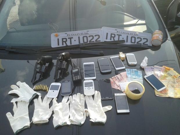 Preso com carro roubado nesta terça, em Caxias, participou de latrocínio em 2013 Brigada Militar / Divulgação/Divulgação