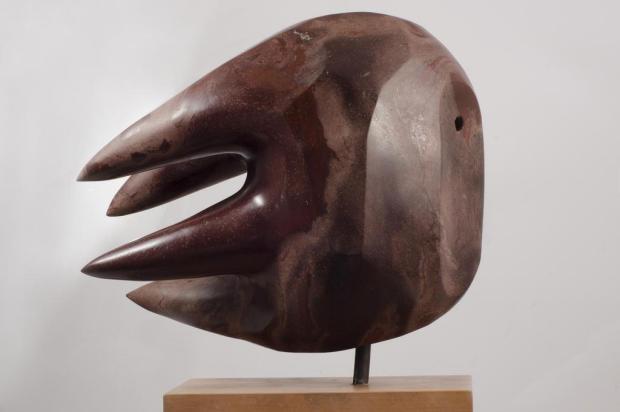 3por4: Bez Batti cria cabeças de peixes em nova série de esculturas Valdir Ben/Divulgação