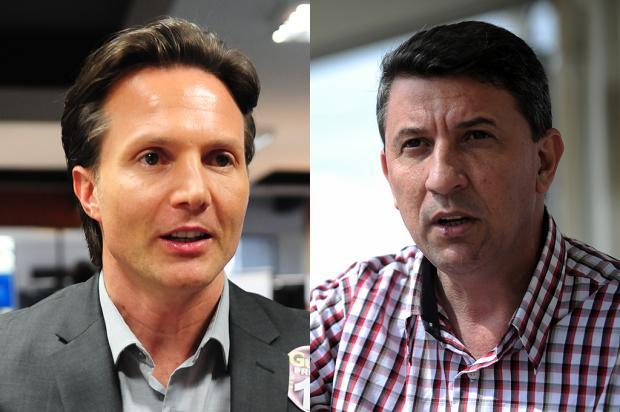 Guerra e Feldmann participam de encontro sobre economia de Caxias Montagem sobre as fotos de Roni Rigon e Felipe Nyland / Agência RBS/Agência RBS