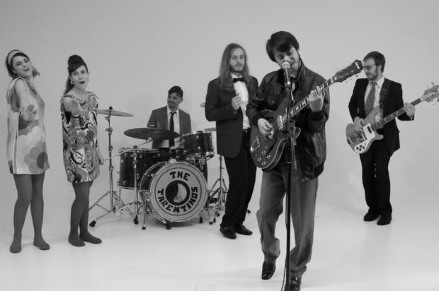 3por4: The Tarentinos: a banda que não existe lança rock à italiana Tuany Areze/Divulgação