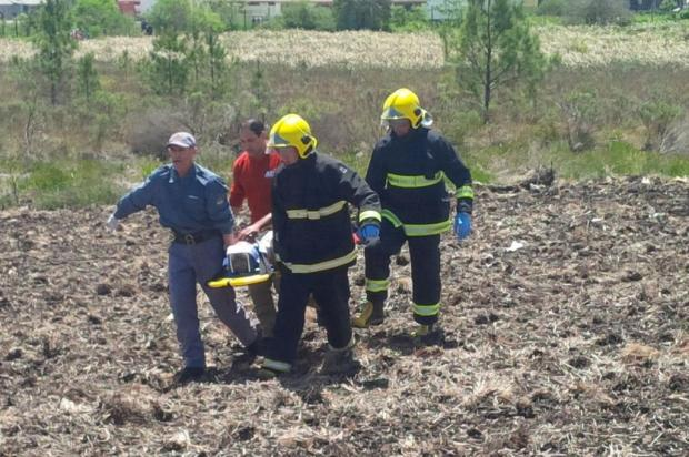 Manobra de piloto de helicóptero impediu tragédia em Canela Filipe Rocha/Folha de Canela,divulgação