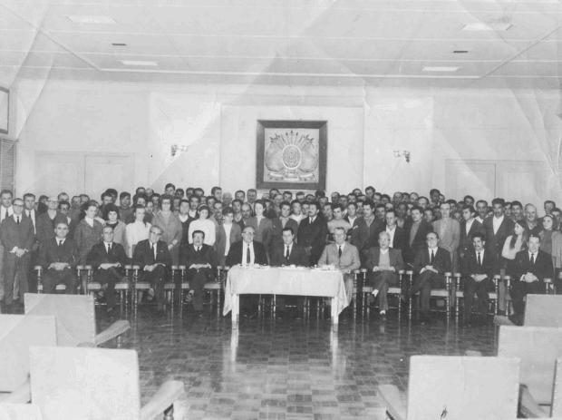 Jubileu de prata no Eberle em 1969 Lídio Provin/Acervo de família,divulgação