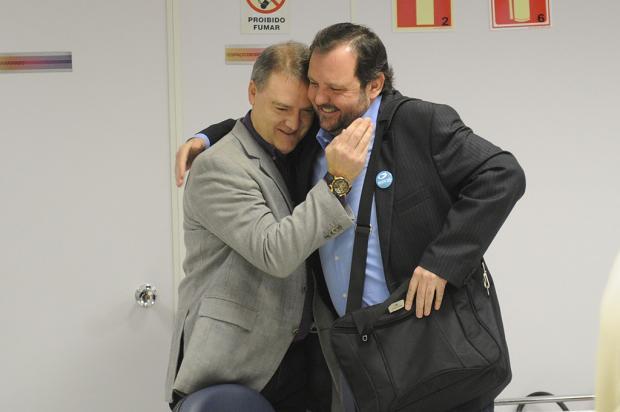 Ex-candidato a prefeito Vitor Hugo Gomes apoia Néspolo Diogo Sallaberry / Agência RBS/Agência RBS