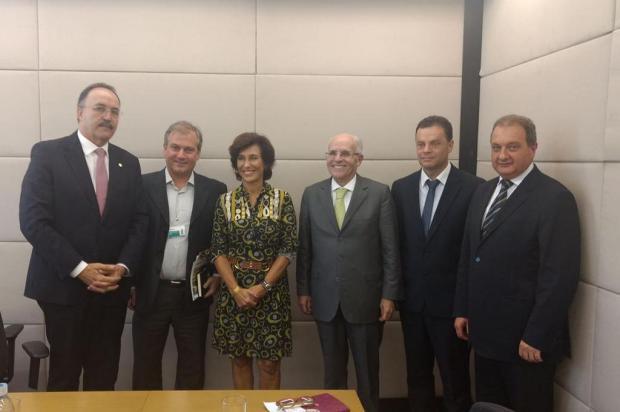 Executivos de Caxias saem confiantes de audiência com nova presidente do BNDES, no Rio Dione Senna/divulgação
