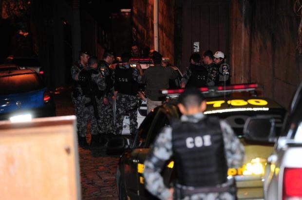 """""""É um cenário cinematográfico"""", diz oficial da BM sobre confronto em Caxias Porthus Junior/Agencia RBS"""