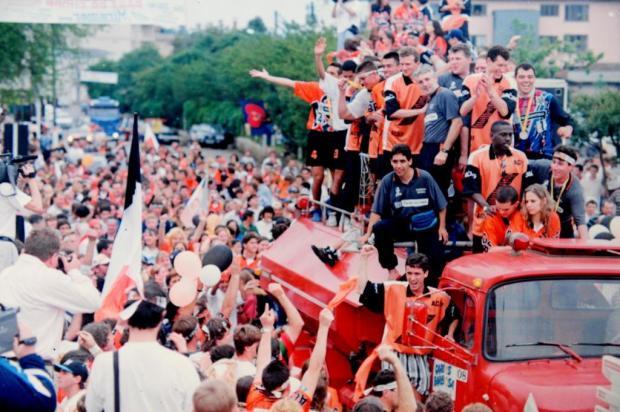 Supremacia da ACBF no futsal brasileiro Nereu de Almeida/Agencia RBS