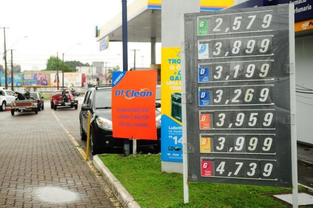 Redução da gasolina não chegou nas bombas de Caxias Diogo Sallaberry/Agencia RBS