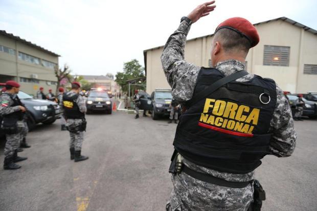 """""""Mais 90 dias, no mínimo"""", diz Schirmer sobre a Força Nacional de Segurança no RS Júlio Cordeiro/Agencia RBS"""