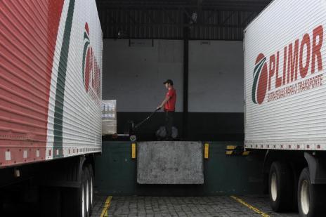 Carga transportada na Serra reduziu até 50% desde o início da crise (Marcelo Casagrande/Agencia RBS)