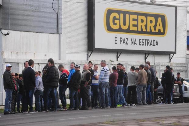 Guerra SA, de Caxias, demite 180 trabalhadores Roni Rigon/Agencia RBS
