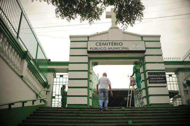 Cemitério Municipal de Caxias do Sul prorroga prazo para reformas de jazigos Diogo Sallaberry/Agencia RBS