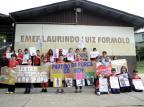 Alunos da escola Laurindo Formolo, em Caxias do Sul, realizam eleição simulada Marcelo Casagrande/Agencia RBS