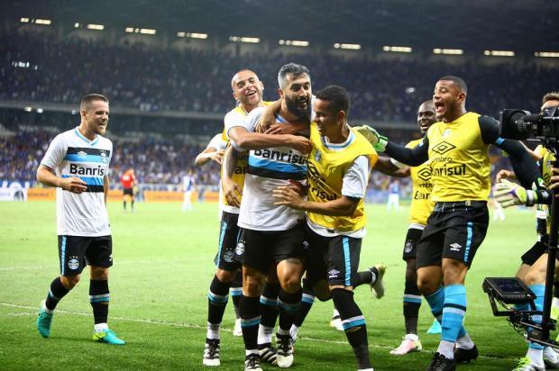 "José Augusto Barros: ""De volta para a Copa do Brasil"" LUCAS UEBEL/GREMIO FBPA/Gremio.net"