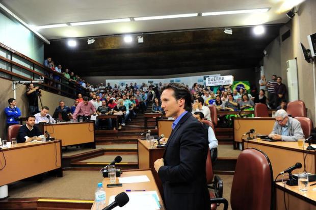Só 5 bancadas saúdam Daniel Guerra na primeira sessão após o segundo turno em Caxias do Sul Porthus Junior/Agencia RBS
