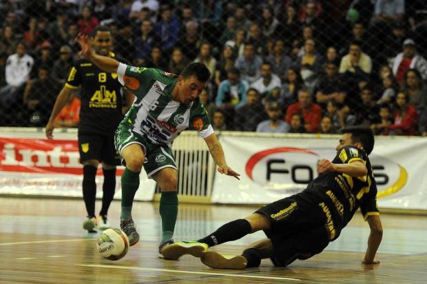 Juventude Futsal perde por 3 a 2 para a Assoeva e se despede do Estadual Série Ouro Felipe Nyland/Agencia RBS