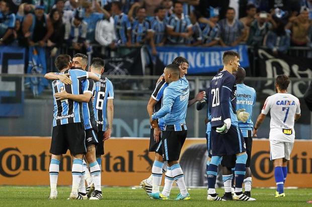 """José Augusto Barros: """"Definitivamente, estamos na final!"""" Lucas Uebel/Gremio.net"""