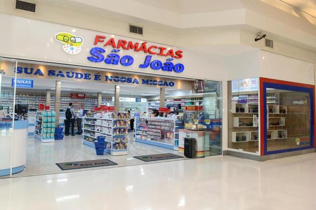 São João abre sua 34ª farmácia em Caxias. Dessa vez, no Iguatemi Edson Pereira/divulgação