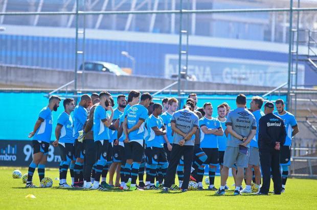 """José Augusto Barros: """"Jogamos por uma bola"""" Lucas Uebel/Grêmio FBPA"""