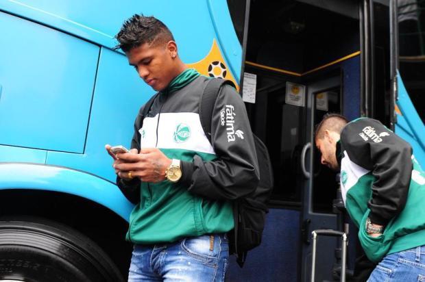 Juventude renova contrato de Caion e está muito perto de acertar com Hugo Almeida Roni Rigon/Agencia RBS