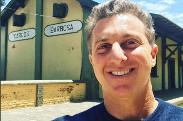 3por4: Luciano Huck grava em Carlos Barbosa Instagram/Reprodução