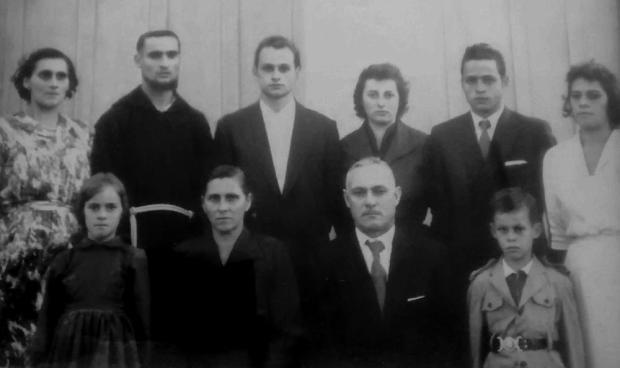Família de Vicente e Maria Restelatto Acervo de família/Divulgação