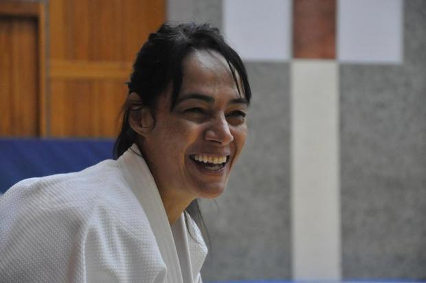 Técnica da seleção brasileira feminina de judô, Rosicleia Campos participa de encontro em Caxias do Sul Lara Monsores/CBJ,Divulgação