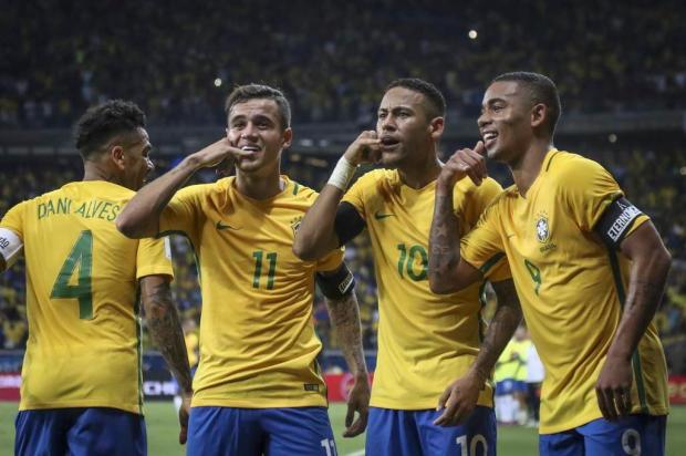 Seleção goleia Argentina por 3 a 0 e mantém liderança nas Eliminatórias Thomás Santos,Mowa Press/Divulgação