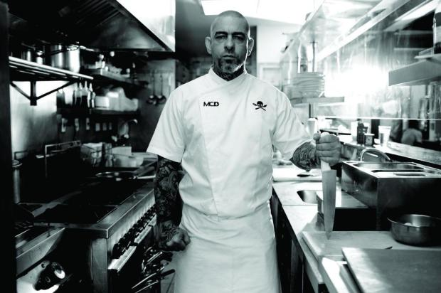 3por4: Chef Henrique Fogaça elabora jantar na Casa Perini Victor Daguano/Divulgação