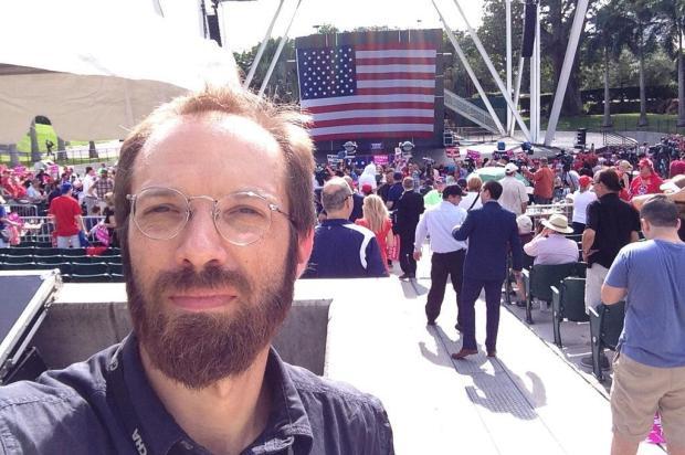 Daniel Scola revela um único arrependimento nos bastidores da reportagem, nas eleições dos States arquivo pessoal/arquivo pessoal