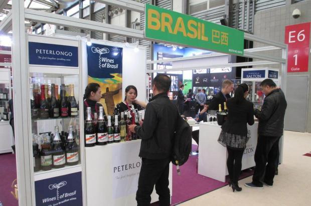 Vinícolas da Serra projetam vendas deUS$ 410 mil para a China Mônica Dornelles/Ibravin/Mônica Dornelles/Ibravin