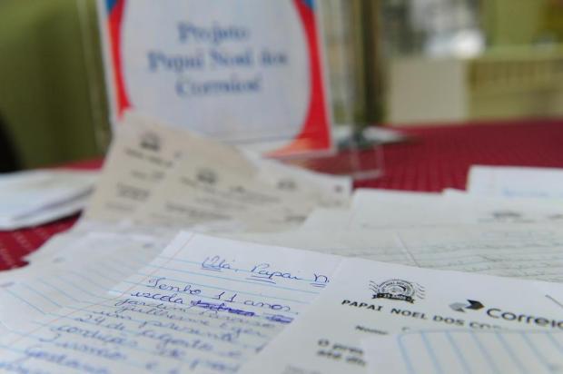 Cartinhas para o Papai Noel estão disponíveis nos Correios de Caxias Salmo Duarte/Agencia RBS