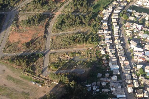 Grande operação marcará remoção de casas de área invadida em Caxias do Sul Divulgação/Divulgação