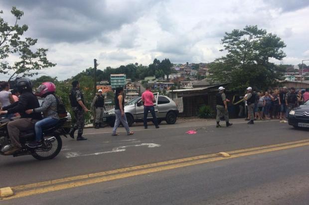 Homem e mulher são baleados na Rota do Sol, em Caxias do Sul Kamila Mendes/Agencia RBS