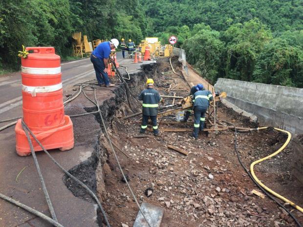 Trecho da BR-116, em Nova Petrópolis, será liberado em meia pista até 15 de dezembro André Fiedler/Gaúcha Serra
