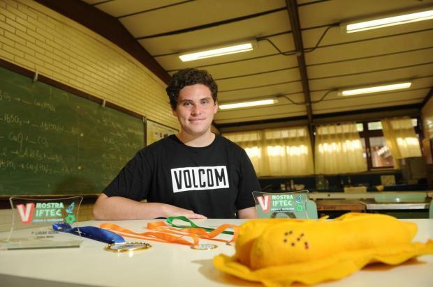 Estudante de Caxias selecionado para mostra internacional precisa de apoio para viajar Diogo Sallaberry/Agencia RBS