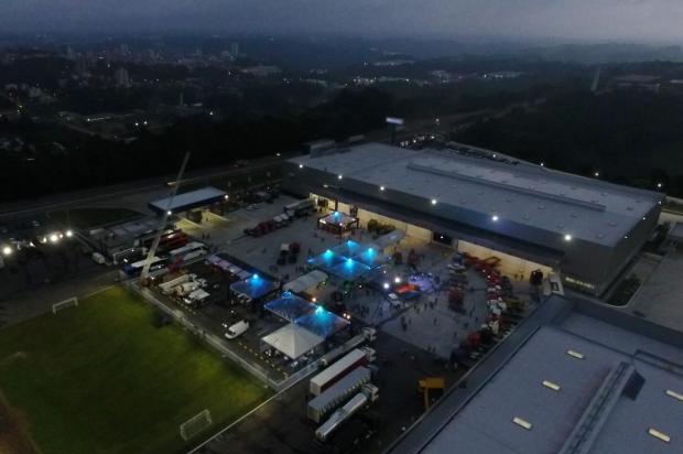 Brasdiesel inaugura em Caxias maior casa Scania do mundo com pompa e anúncio de expansão Maicon Dewes/divulgação
