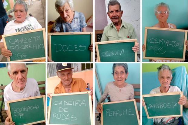 Estudantes fazem campanha para arrecadar presentes de Natal a idosos de asilo de São Sepé Projeto Natal para o Asilo/Divulgação