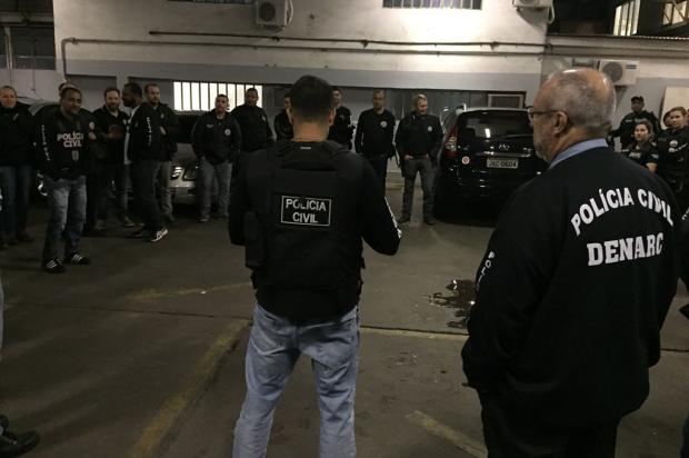 Polícia Civil desarticula rota de drogas entre Porto Alegre e Bento Gonçalves Polícia Civil / Divulgação/Divulgação