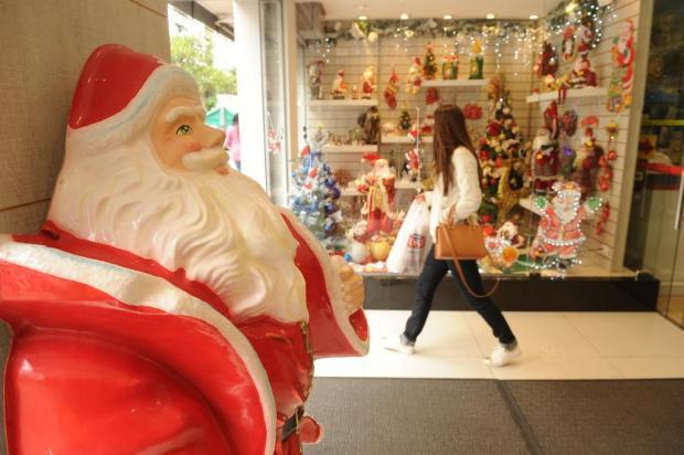 Comércio está retraído nas vendas e na decoração de Natal em Caxias Diogo Sallaberry/Agencia RBS