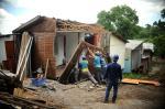 Começa a remoção de casas no Vila Amélia II